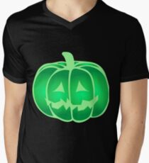 halloween jack o'lantern Men's V-Neck T-Shirt