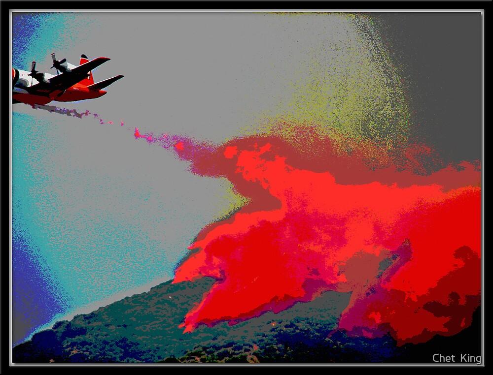 Red Flight by Chet  King