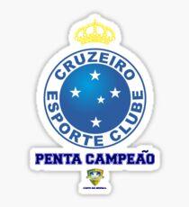 Cruzeiro Esporte Clube Tshirt Sticker