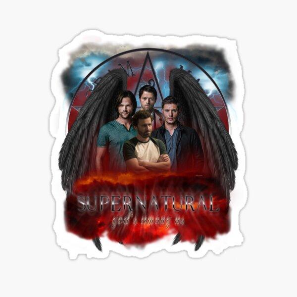 Supernatural Gods Among us 2 Sticker
