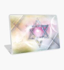 STAR OF DAVID-2- bless and protect- Art + Products Design  Laptop Skin