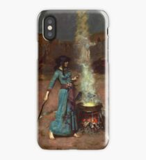 The Magic Circle by John William Waterhouse iPhone Case/Skin