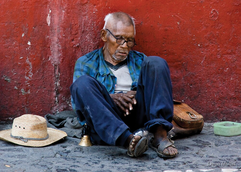 Homeless & Desperate, Taxco, Mexico by Dean Mullin