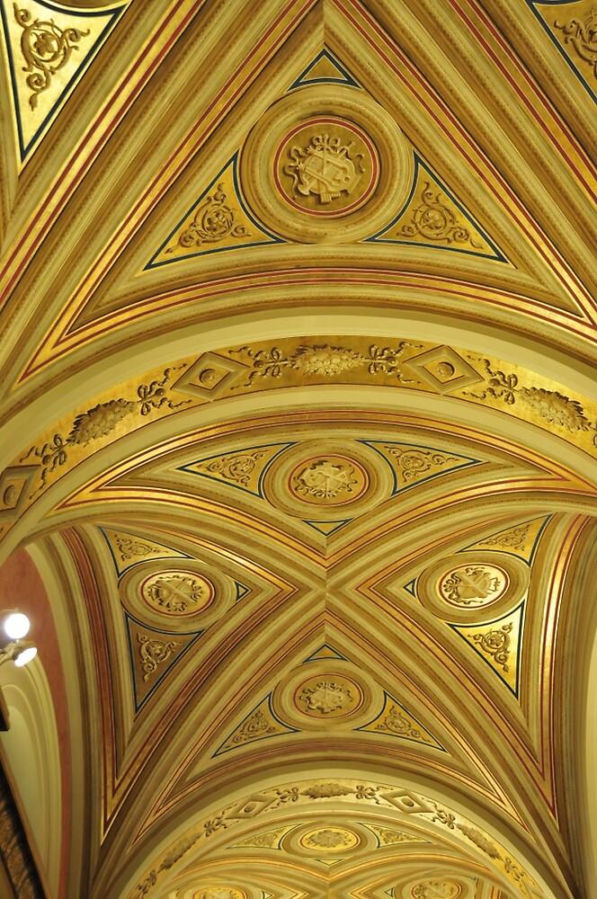 Ceiling detail by bertspix