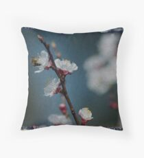 let me bee Throw Pillow