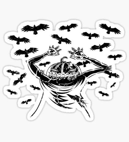 Halloween Symphony - Opening - Orange Sunset Sticker