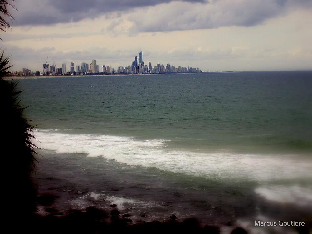 coast veiw by Marcus Goutiere