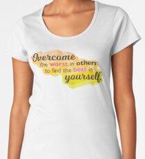 Overcome the Worst Women's Premium T-Shirt