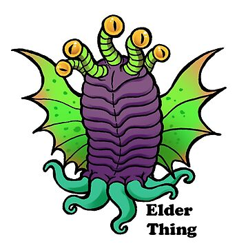 Lovecraft Elder Thing by nyctherion