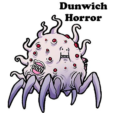 Lovecraft Dunwich Horror by nyctherion