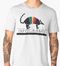 Infogrames logo (1996) Men's Premium T-Shirt