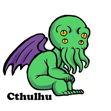 Lovecraft Cthulhu chibi by nyctherion
