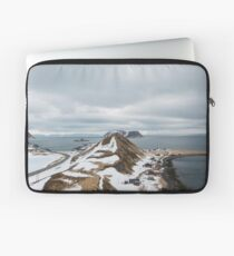 Mountain in the North of Norway Laptop Sleeve