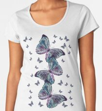 Waltz of the Butterflies | Magical Insects Women's Premium T-Shirt