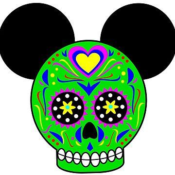 Dia De Los Muertos Ears (Green) by Infernoman