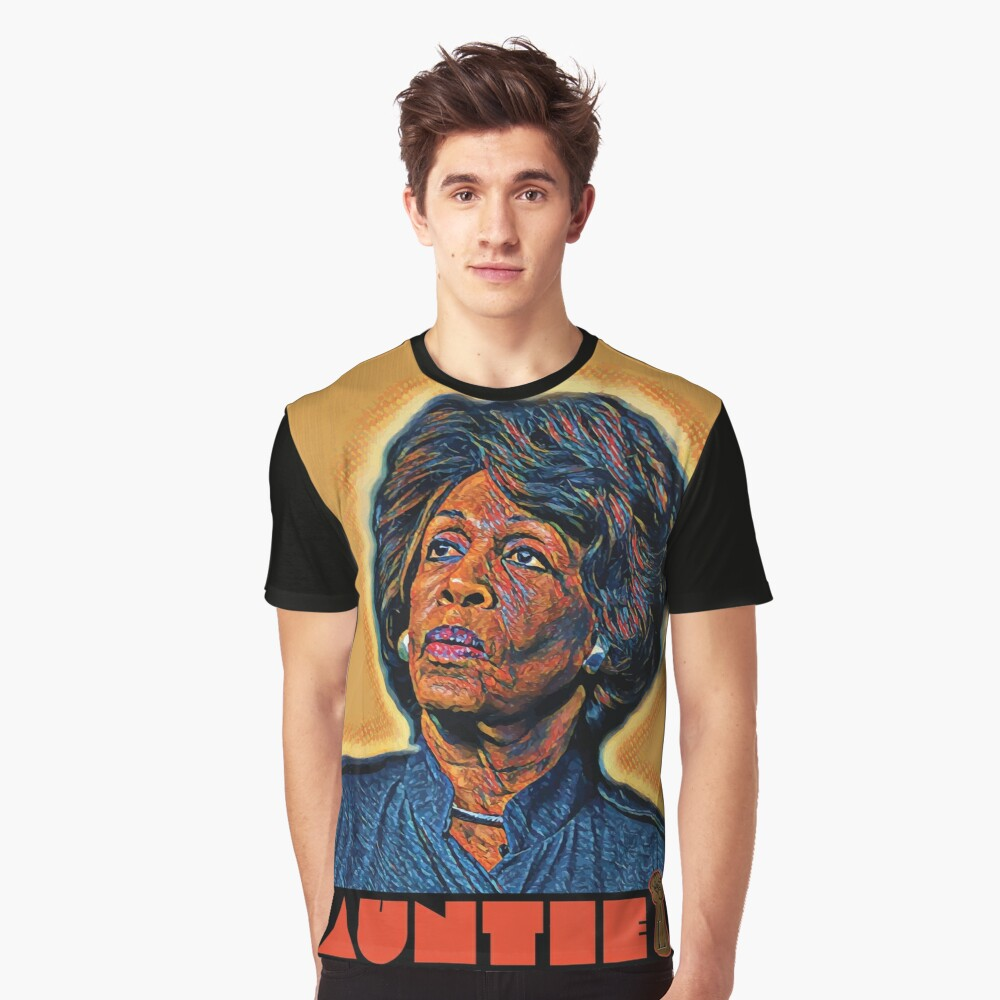 Tha Liberator - Maxine Waters Graphic T-Shirt Front