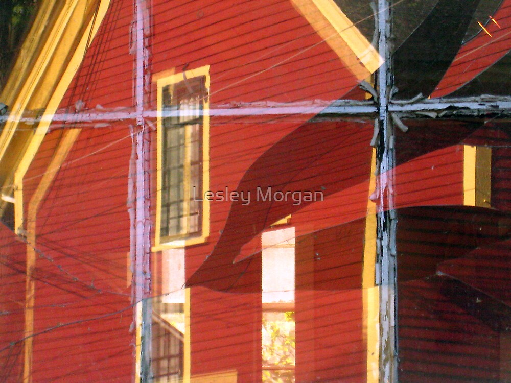 Broken Window by Lesley Morgan