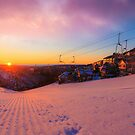 Hotham Height Sunrise by hangingpixels