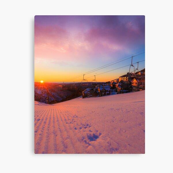 Hotham Height Sunrise Canvas Print