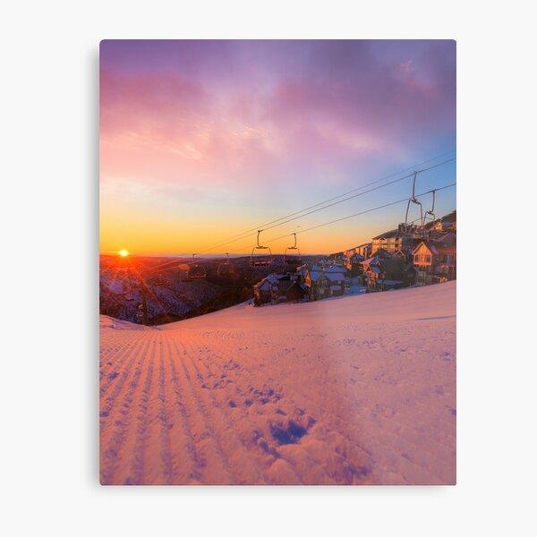 Hotham Height Sunrise Metal Print