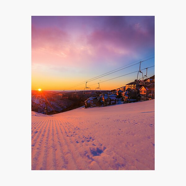 Hotham Height Sunrise Photographic Print
