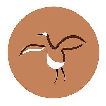 Northern Canada Goose Dance  by robinmcgill