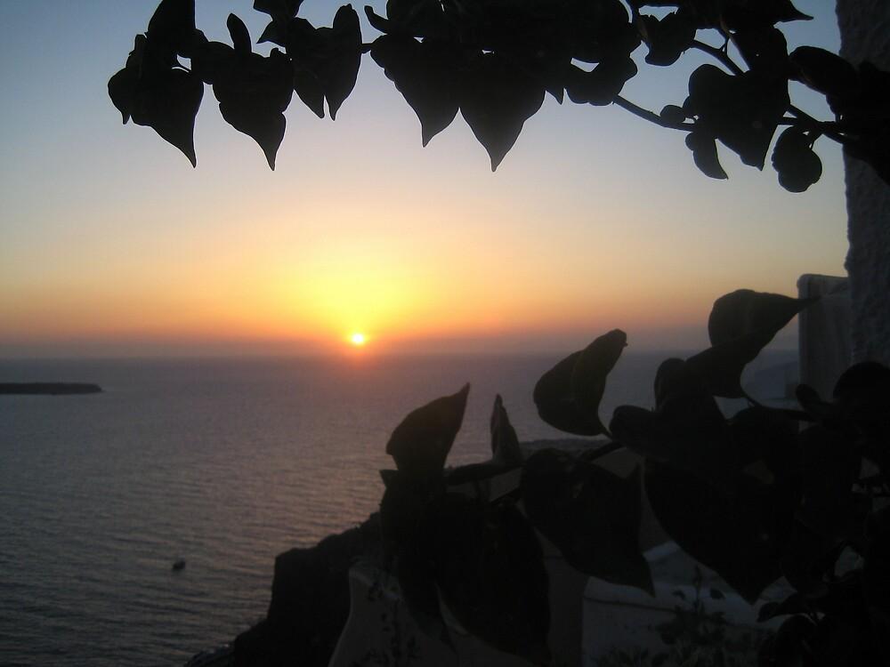 Greek Sunset by justineb