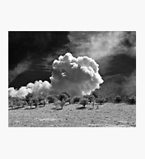 Valley cloud Photographic Print
