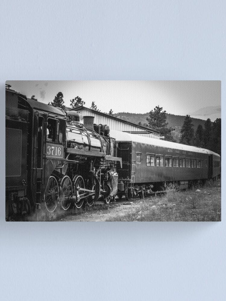 Alternate view of Antique Train Canvas Print
