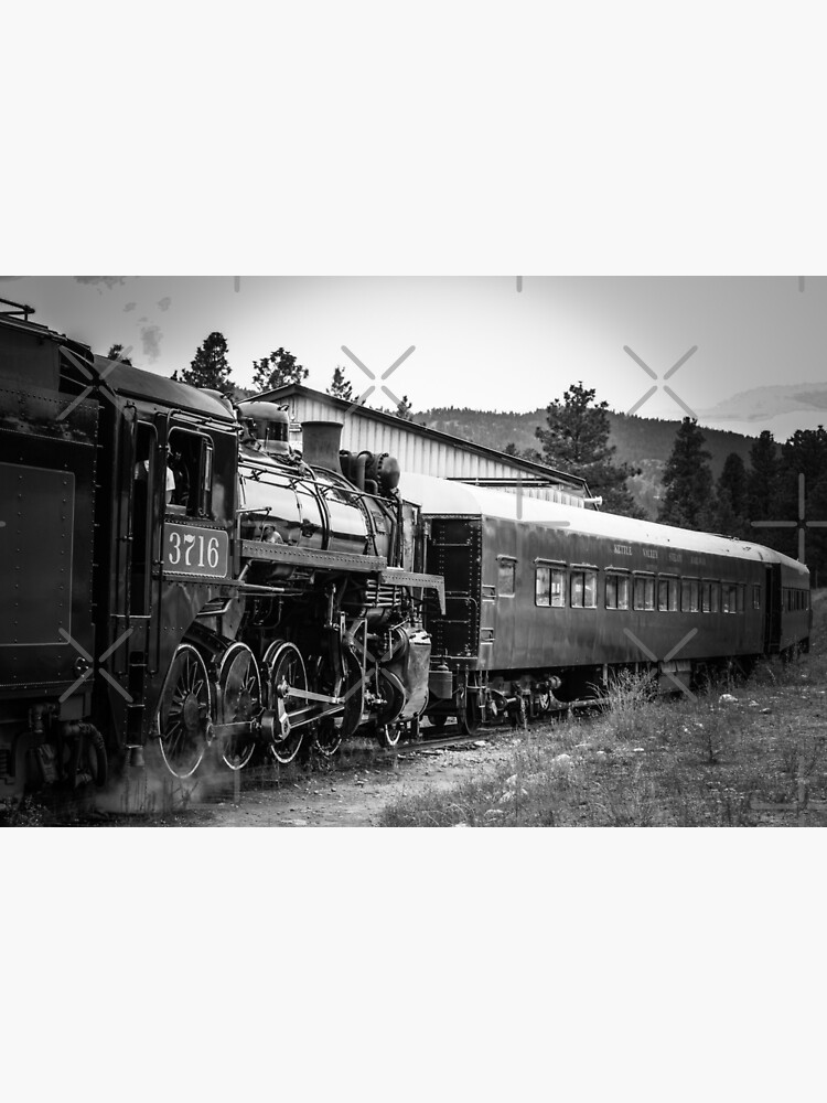 Antique Train by debfaraday