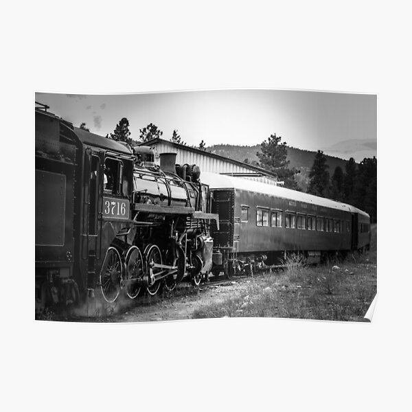 Antique Train Poster