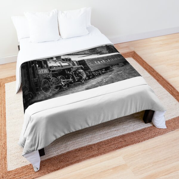 Antique Train Comforter