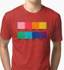 PANTONE RAINBOW Tri-blend T-Shirt
