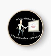 personal space!!! t-shirt - www.shirtdorks.com Clock
