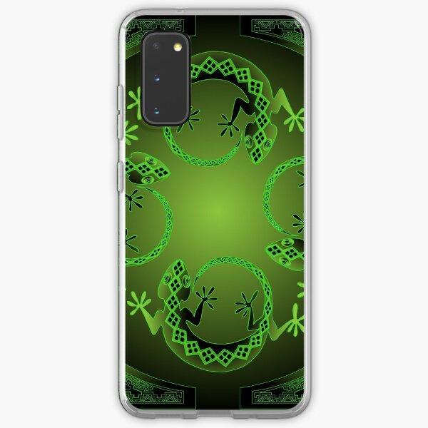Green Gecko Samsung Galaxy Soft Case