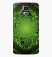 Green Gecko Case/Skin for Samsung Galaxy