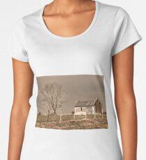 Rural Landscape Scene Women's Premium T-Shirt