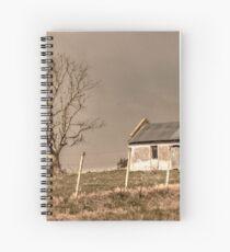 Rural Landscape Scene Spiral Notebook