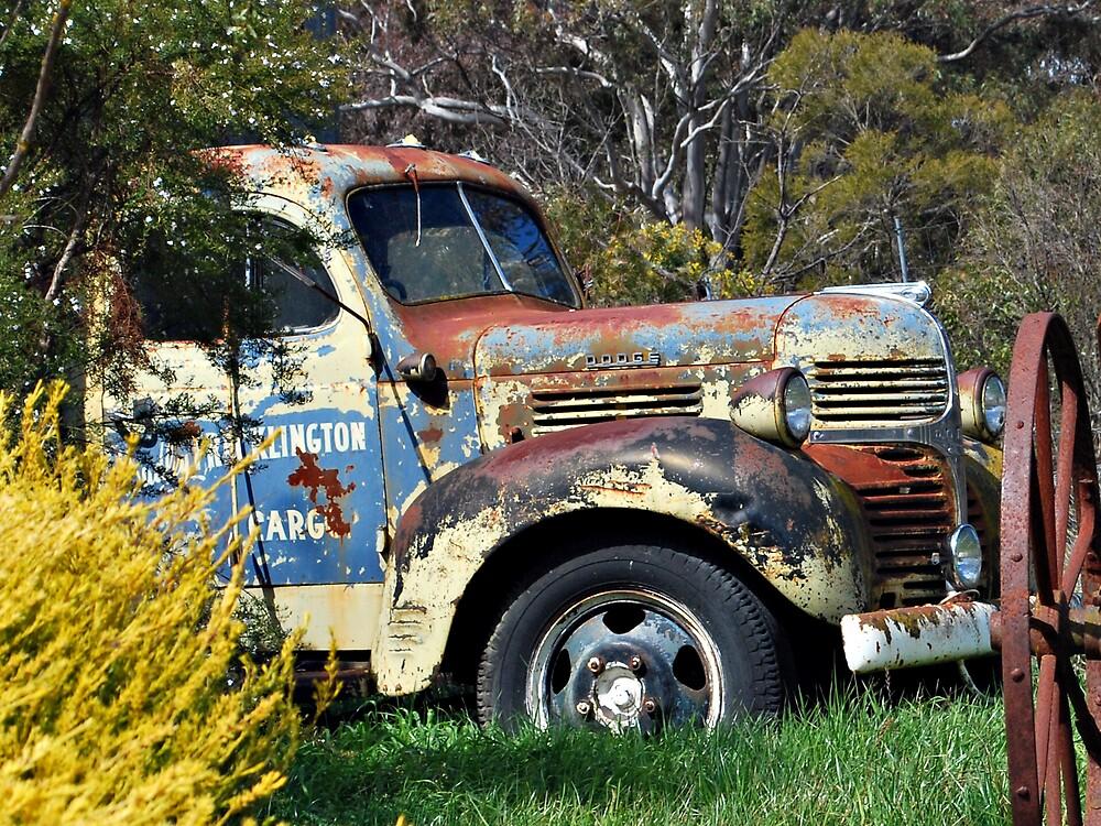Rusty Truck by Peta Jade