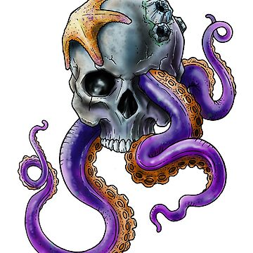 Skull and Tentacles by XMSCreations