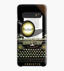 Agatha Christie Knows Whodunnit! Case/Skin for Samsung Galaxy
