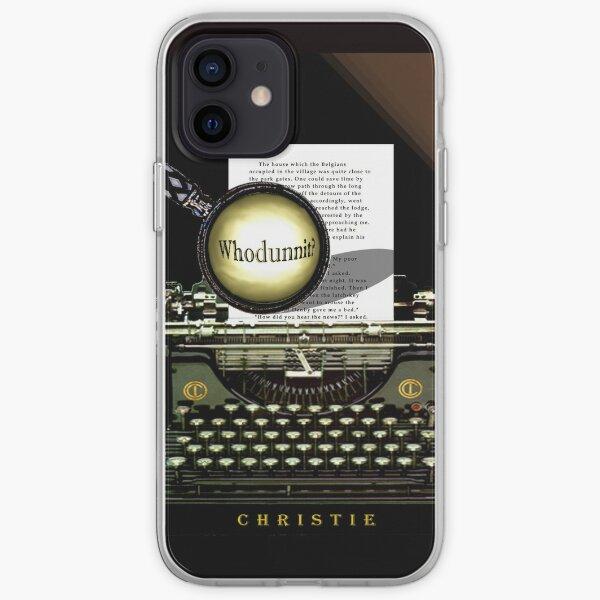 ¡Agatha Christie conoce a Whodunnit! Funda blanda para iPhone