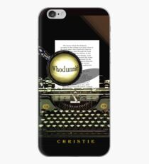 Agatha Christie Knows Whodunnit! iPhone Case