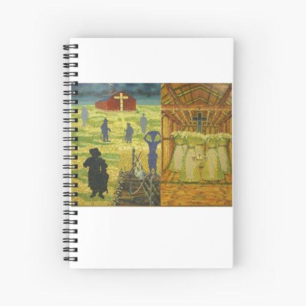 The Soul Harvest Spiral Notebook