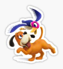 Duck Hunt from Super Smash Bros 4 Sticker
