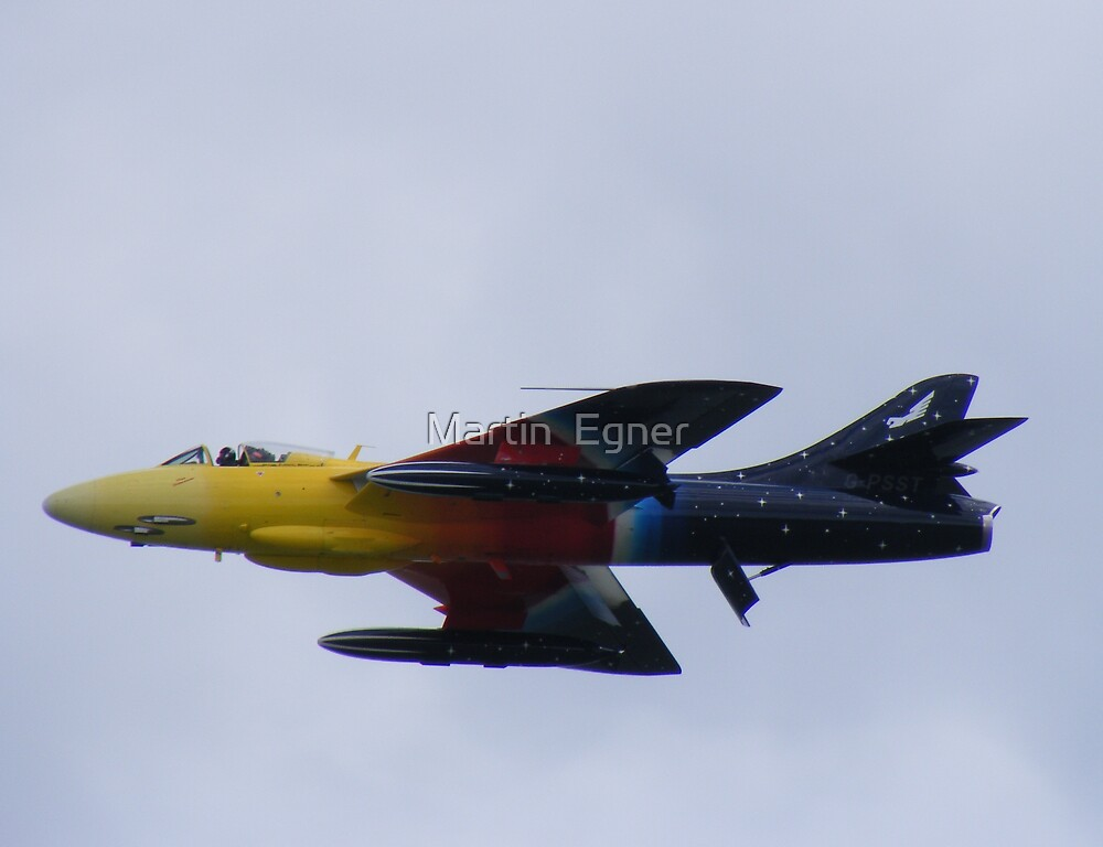 "Hawker Hunter ""Miss Demeanour"" by Martin  Egner"