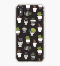 Moody Botanicals iPhone Case