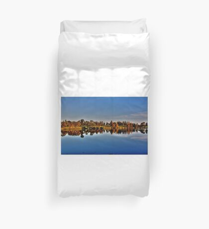 Reflections in the Park Duvet Cover
