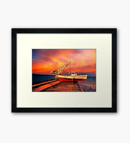 """After the Rain"" Framed Print"