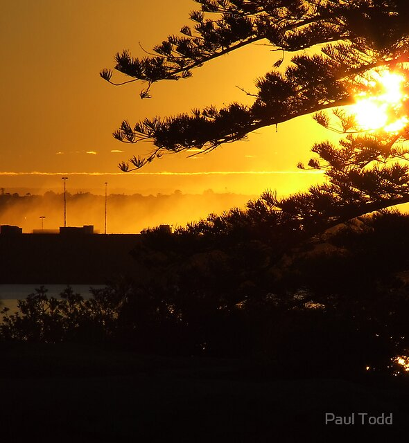 La Perouse Sunset by Paul Todd